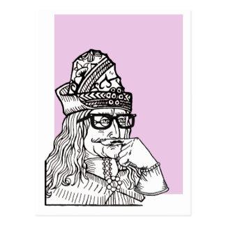 Hipster Uncle Vlad Postcard
