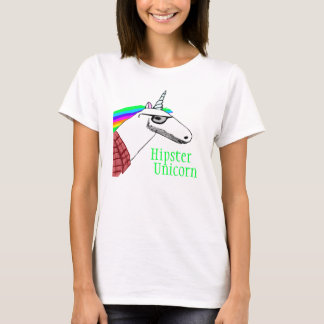 Hipster Unicorn Shirt