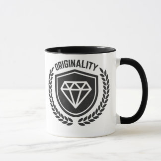 - Hipster Vintage Original Diamond mug -