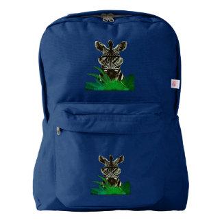 Hipster Zebra Style Animal Backpack