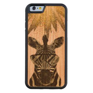 Hipster Zebra Style Animal Cherry iPhone 6 Bumper