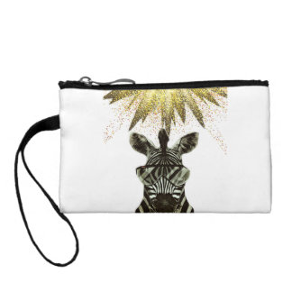 Hipster Zebra Style Animal Coin Purse