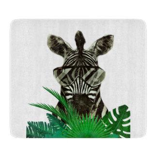 Hipster Zebra Style Animal Cutting Board