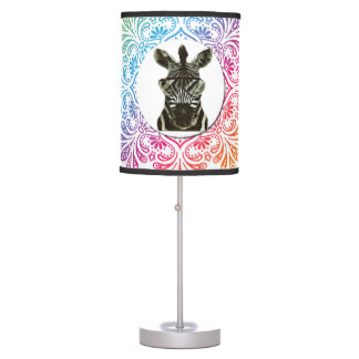 Hipster Zebra Style Animal Desk Lamp