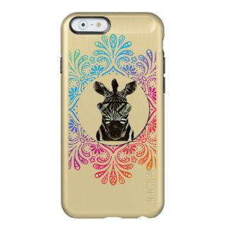 Hipster Zebra Style Animal Incipio Feather® Shine iPhone 6 Case