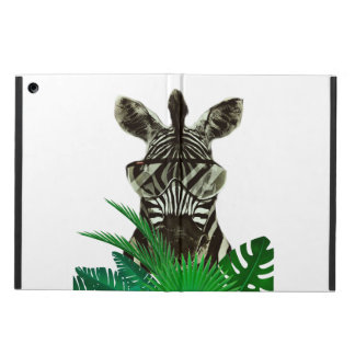 Hipster Zebra Style Animal iPad Air Cases