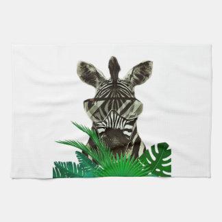 Hipster Zebra Style Animal Kitchen Towel