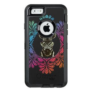 Hipster Zebra Style Animal OtterBox Defender iPhone Case