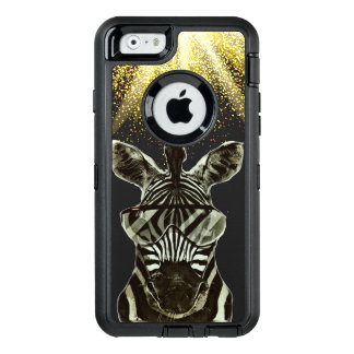 Hipster Zebra Style Animal OtterBox iPhone 6/6s Case