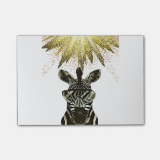 Hipster Zebra Style Animal Post-it Notes