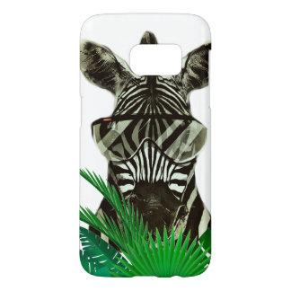 Hipster Zebra Style Animal Samsung Galaxy S7 Case