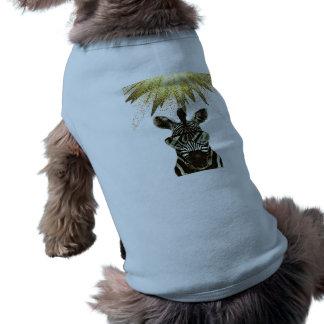 Hipster Zebra Style Animal Shirt