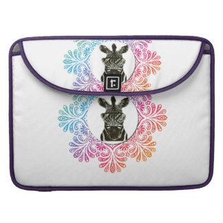 Hipster Zebra Style Animal Sleeve For MacBooks