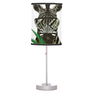 Hipster Zebra Style Animal Table Lamps