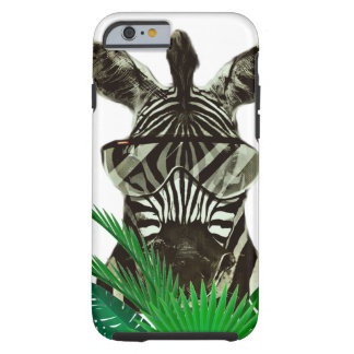 Hipster Zebra Style Animal Tough iPhone 6 Case