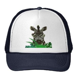 Hipster Zebra Style Animal Trucker Hat