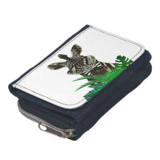 Hipster Zebra Style Animal Wallet