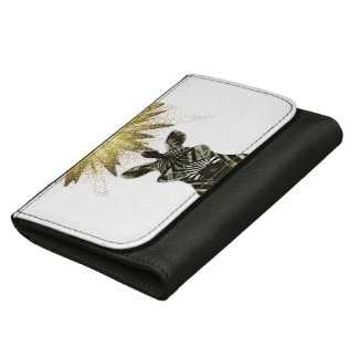 Hipster Zebra Style Animal Wallets For Women