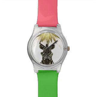 Hipster Zebra Style Animal Watch