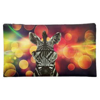 Hipster Zebra Style Makeup Bags