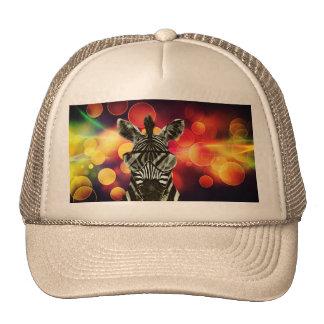 Hipster Zebra Style Trucker Hat