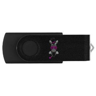 Hipster Zebra USB Flash Drive