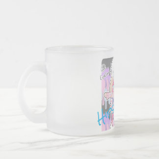 HiPsTeR'S LoVe Frosted Glass Coffee Mug