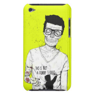 Hipsters not dead Case-Mate iPod touch case