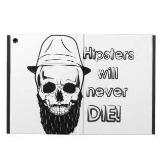 Hipsters will never die! iPad air cover