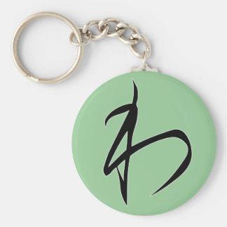 """Hiragana """"Wa"""" Keychain"""