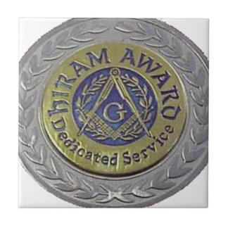 hiram_award.gif ceramic tile