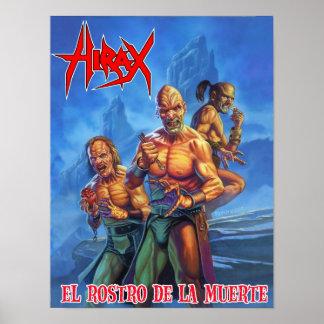 HIRAX_El_Rostro_de_la_Muerte_Poster Poster