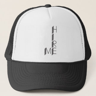 hire me trucker hat