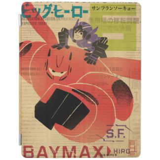 Hiro And Baymax Propaganda iPad Cover