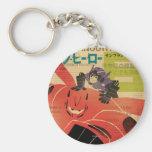 Hiro And Baymax Propaganda Key Chain