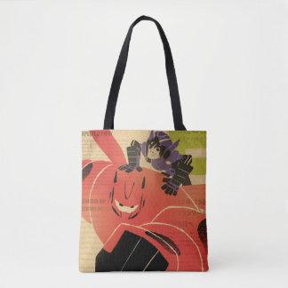 Hiro And Baymax Propaganda Tote Bag