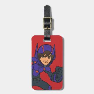Hiro Hamada Purple Luggage Tag