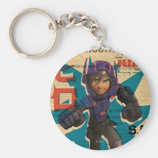 Hiro Propaganda Basic Round Button Keychain