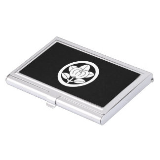 Hirone orange business card holder