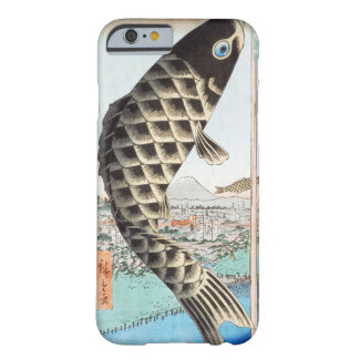 Hiroshige Koi Suido Bridge Japanese Ukiyo-e Art Barely There iPhone 6 Case