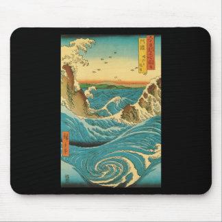 Hiroshige Navaro Rapids Mousepads