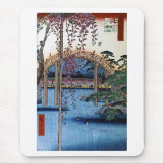 Hiroshige, place of interest Edo hundred scene Mouse Pad