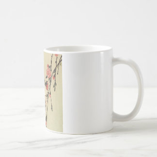 Hiroshige Swallows and Peach Blossoms Coffee Mugs