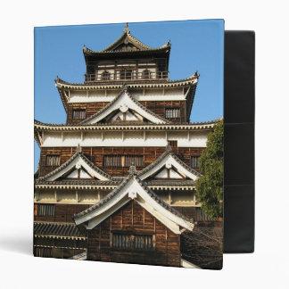 Hiroshima Castle 広島城, Hiroshima, Japan Vinyl Binder