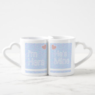 His and Hers Couples Mugs Set