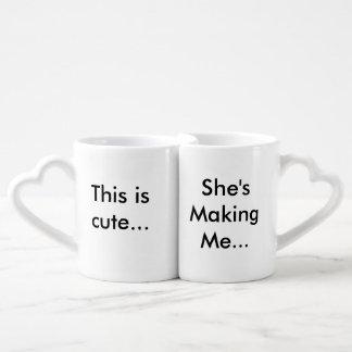 His and Her's Mug Set