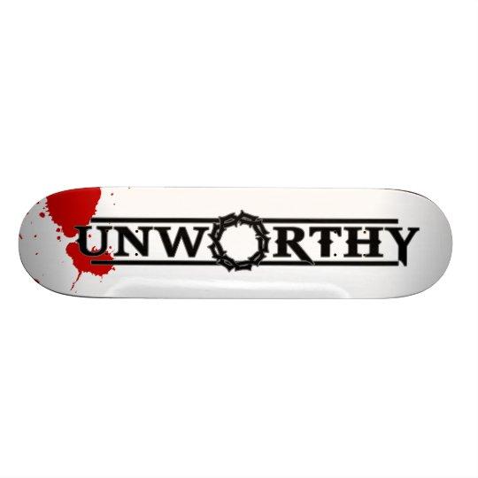 His Blood Skate Deck