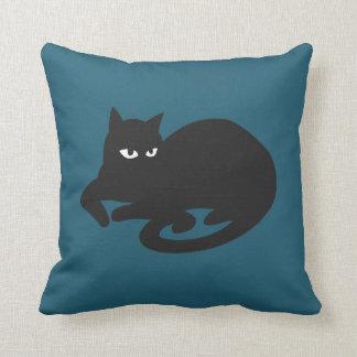 His Blue Throw Pillow