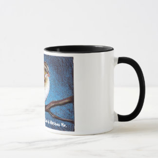 HIS EYE IS ON THE SPARROW: ARTWORK, REALISM MUG