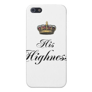 His Highness (part of his and hers set) Case For The iPhone 5